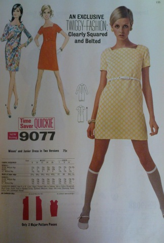 twiggy-yellow-polka-dress
